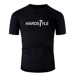 Imprimir loco Hadstyle Girl (blanco) camiseta para hombre del algodón de la novedad de las camisetas del muchacho gris más el tamaño S-5XL Camiseta