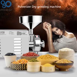 1,8 W / 2.2KW / 3KW eléctrico grano Grinder acero inoxidable máquina de molino de granos a base de plantas de molienda Medicina máquina comercial