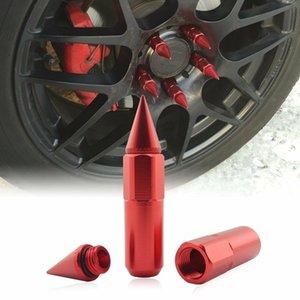 20pc M12X1.25 cravado Lug Nuts Extensão 60 milímetros Tuner roda / pneus para Nissan Infiniti