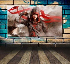 Assassins Creed Chronicles China, HD-Leinwand-Druck neue Hauptdekoration-Kunst-Malerei / Unframed / Eingerahmt