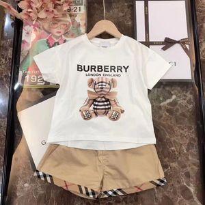 Toddler Girls Clothes Set Summer 2020 Fashion Short Sleeve T shirt+Short pants Girls Outfits children suits Kids Clothing
