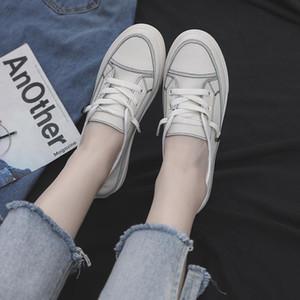 2019 Sommer koreanischen asual Schuhe Frauen Normallack Art und Weise Schuhe der Frauen flache Ferse Loafers