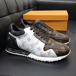 Louis Vuitton LV shoes nuove scarpe di cuoio di modo più scappare Sneaker moda Scarpe per gli uomini con la scatola originale All'aperto Runner Chaussures pour hommes