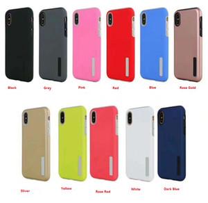 MEILLEURS Nouveaux styles Abrasif 2 en 1 téléphone TPU PC Couvercle de protection pour xs iphone max x xr 8 7 6s 6 plus Samsung