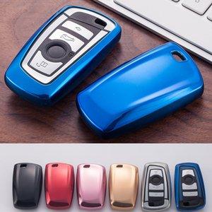 Chave do carro caso capa para BMW 520 525 f30 f10 F18 118i 320i 1 3 5 7 Series X3 X4 M3 M4 M5 Car Styling suave TPU Proteção Key Shell