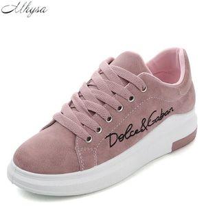 Mhysa 2018 Spring New Designer клинья Pink Платформа кроссовки Женщины вулканизацию Обувь Тенис Feminino Повседневная женская обувь женщина Y07 Y200109