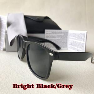 Designer di lusso occhiali da sole delle donne degli uomini Piazza Marca Acetato reale UV400 Occhiali da sole custodia in pelle originale