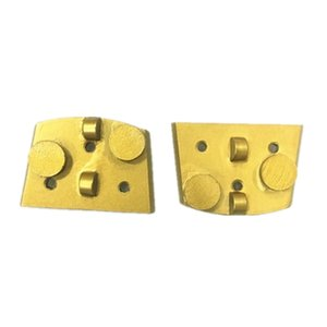 Easy Change Lavina Diamond PCD Grinding Plate Lavina PCD Grinding Disc with Two Round Segments Two Half PCD for Epoxy Coating Removal 12PCS