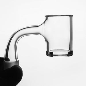 Yapıt Kuvars Banger ile Iyi Ortak Tırnak 25mm OD Çalışma Heady Kuvars Banger Çivi cam su bongs dab kuleleri için