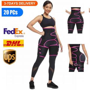 EEUU al por mayor de la talladora del cuerpo de la cintura de la pierna entrenador del vientre postparto de las mujeres adelgaza la ropa interior de la correa de Modelado Fajas abdomen aptitud del corsé FY8054