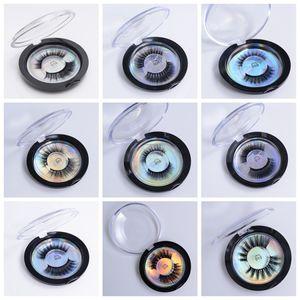 المنك جلدة 3d الحرير بروتين المنك الرموش الصناعية الناعمة سميكة الرموش وهمية العين الرموش امتداد 28 أنماط RRA1110