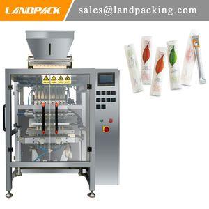 Tea Leaf Multi Lane Stick Pack Machine Vertical Granule Sachet Form Fill Seal Mecánico
