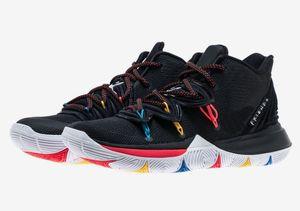 En İyi Kyrie 5 çocuk arkadaşlar GS Ayakkabı kutusu ile satılık ücretsiz kargo Irving 5 erkek Basketbol ayakkabı Drop Shipping size36-46
