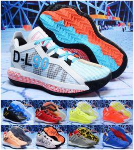 Лиллард VI замша 6S 6 6-й Брюс Ли Баскетбол обувь Мужская обувь Спорт Dame Кроссовки Кроссовки