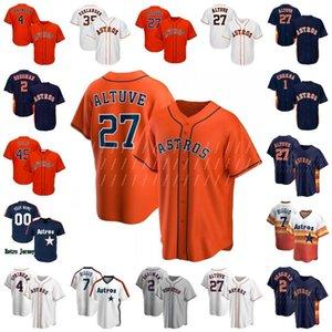 2020 Houston Baseball Jerseys Altuve Bryan Abreu Chris Devenski Craig Biggio George Springer Jeff Bagwell Reddick Justin Verlander Jersey