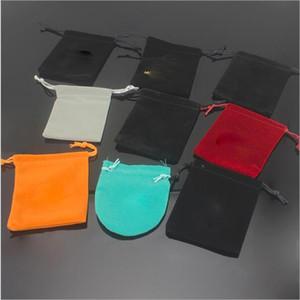 Alta qualidade Hot Sale anéis colar brincos dustbags embalagem caixa de jóias embalagens quadrados pequenos sacos pequeno presente Poeira sacos por atacado