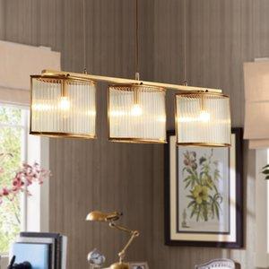 Moderne Kupfer Pendelleuchten nordic Glas hängende Lichter Homedeko Wohnzimmer Restaurant Bar LED-Leuchten Suspension Lampe
