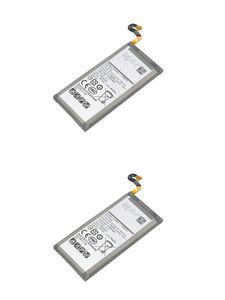 2PCS  lot 3000mAh 3.85VDC EB-BG950ABE Replacement Battery For Samsung Galaxy S8 G950 G950F G950A G950T G955S G950P G950U Battereis