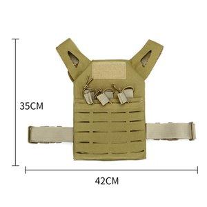 Kids Army Green Tactical Combat Vest Lightweight Wargame Paintball Protective JPC Vest Waistcoat Airsoft Vest Outdoor Vests