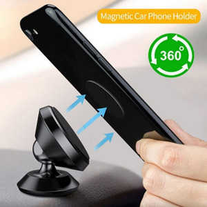 Новый универсальный магнитный Автомобильный телефон держатель лобового стекла приборной панели Всасывающий сотовый телефон GPS Cup Mount Авто интерьер аксессуары