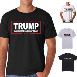 Donald Trump Presidente Por 2016 camiseta hacer de Estados Unidos Gran Nuevamente Hombres camiseta de manga corta casual para hombre de la camiseta Blusa