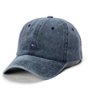Высокое Качество Мультфильм Water Wash Вышивка Акула шаблон Hat Открытый Отдых Бейсболка поло Cap Мужская и женская Шляпа