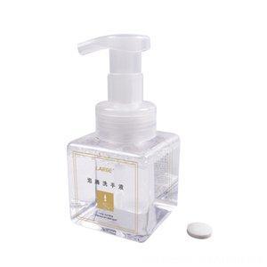 Sıvı Sabun Köpüğü Doldurulabilir şişeler Kat Örgütü Köpük Şişe Kavanoz PET Seyahat Temizle El sterilize Sıkılmış Malzemeleri Temizleme