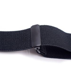 Kids Adult Brace Suspenders Bowtie Sets Boy Girl Suspenders Black Plating 3 Clips Strap Trousers Suspensorio Elastic Strap