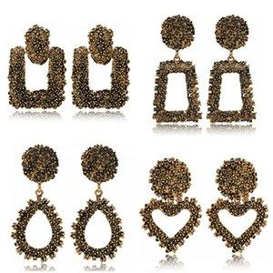 Gli orecchini di dichiarazione SexeMara moda 2019 orecchini Big geometriche per donne appesi ciondola goccia Earing gioielli moderni