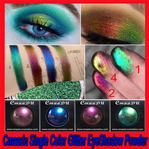.CmaaDu 4 Colores Mujeres Sexy Encantador Brillo Sombra de Ojos En Polvo Labios de Diamante Ojos Sueltos Pigmento Brillo Cosméticos Metálicos