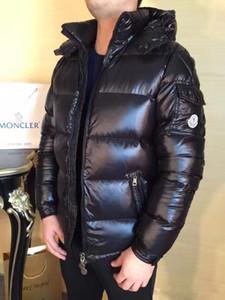 ceket kapüşonlu ceket klasik tutmak sıcak beyaz ördek aşağı aşağı 2019 özel teklif sınırlı düzenli fermuar siyah kış ingiliz tarzı erkekler