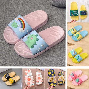 New Arrivals Eltern-Kind-Hausschuhe für Kinder Strandmode atmungsaktiv Sandalen Sommer Bequeme Damen Startseite Schuhe Kinder Printed Slippers
