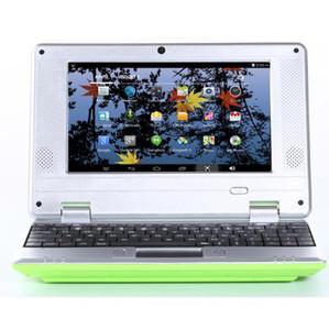 Netbook de 7 polegadas WIFI com linha mini computador notebook estudante VIA8880
