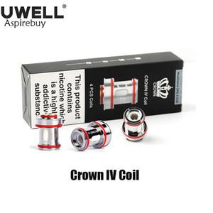 Uwell Корона 4 Катушки двойной SS904L Ядро 0.2ohm 0.4ohm УН2 0.23ohm для электронных сигарет Uwell Crown IV танкового Оригинал