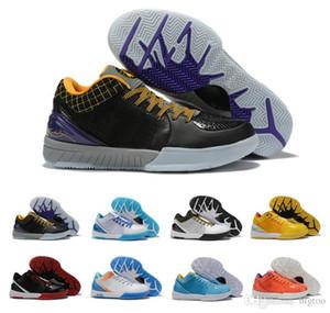 Классический MAMBA Увеличить IV 4 Protro Проект день Шершни Carpe Diem Del Sol Спорт Баскетбол Обувь Mens ZK4 4s кроссовки US7-12