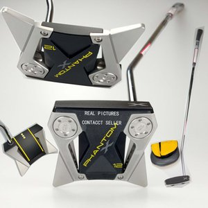 Promotion de nouveaux clubs de golf Phantom X12 Golf Putter + Headcover 33 34 35 pouces Disponible Photos réeles Contacter le vendeur