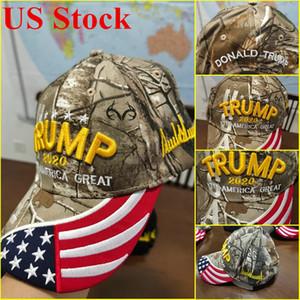 الرئيس الامريكي المالية ترامب كاب الاحتفاظ أمريكا العظمى مرة أخرى سنببك قبعة التطريز ترامب 2020 قبعة بيسبول DHL شحن
