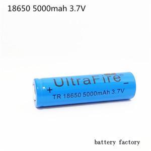 UltreFire 평면 머리 배터리 18650 5000MAH 3.7V 리튬 배터리 무료 배송 F