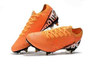 Botas de fútbol de tobillo bajo para hombre Mercurial Vapors 13 Elite SG-PRO AC Zapatillas de fútbol Superfly Vapors XIII 360 SG ACC Botas de fútbol para exteriores