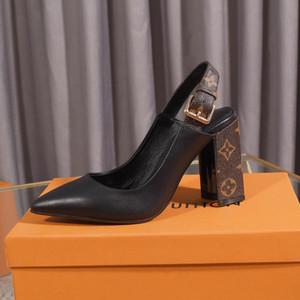 ayakkabılar yüksek topuklu Tasarımcı üst elbise ayakkabı parti yeni 2820ss moda İlkbahar Sonbahar yüksek topuklu sandaletler parti Ziyafet düğün womens
