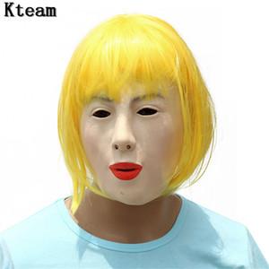 Grado superiore !!! Bambola del Crossdresser della mascherina di Crossdresser della mascherina del Crossdresser di Ching del silicone femminile Handmade e dolce di alta qualità