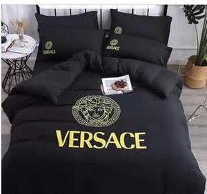 220 Branded algodón Textiles para el hogar suave del lecho de la cama sólido Tamaño funda nórdica asiática cubierta del edredón Ropa de cama Breves
