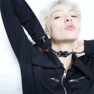2019 1017 ALYX STUDIO LOGO collana chain del metallo Coppie di Uomini Donne Hip Hop esterna Via accessori regalo di festival libera la nave
