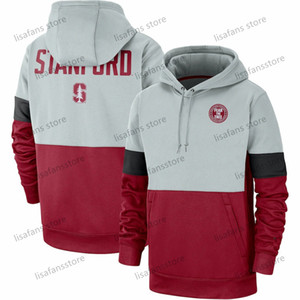 Erkek Stanford Cardinal Rekabet Therma Performans Kazak Kapüşonlular 2020 Futbol University College Spor Sweatshirt Boyut S-4XL