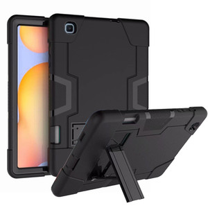 """Hybrid Armor Shockproof Rugged Drop Protection Cover Case Built with Kickstand For Samsung Galaxy Tab S6 Lite 10.4"""" SM-P610 P615"""