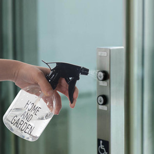 500ml esterilización dilución en agua de botella jardinería doméstica aerosol botella de prensa esterilizar el agua de atomización botella de spray T3I5708