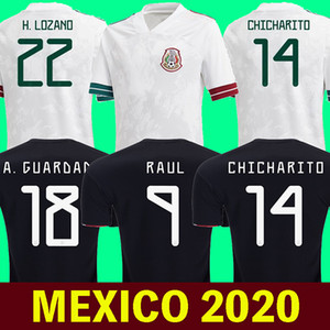 mexico jersey 2020 mexico futbol formaları HIRVING LOZANO futbol forması 2020 dünya kupası CARLOS V GUARDADO G.DOS SANTOS mexico Tişört CHICHARITO maillot