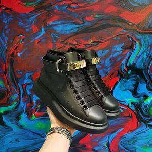 Da Uomo Di scarpe Design formateurs de la chaîne plate-forme de réaction scarpe MQ Chaussures montantes de qualité en cuir plate-forme de size35-46