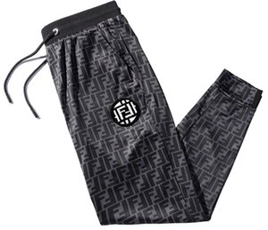 19ss erkekler kadınlar Joggers Rahat Harem Sweatpants spor pantolon Moda erkek baskı Hareket Pantolonnning yan mektup Pantolon 562 #