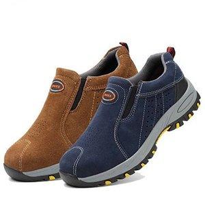 2019 chaussures de sécurité cheville survie en milieu sauvage acier mi-plaque safty anti-écrasement des bottes de sécurité # MYTG119